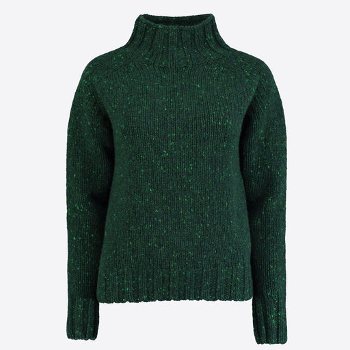 Lowie Forest Cashmere Blend Funnel Neck Jumper