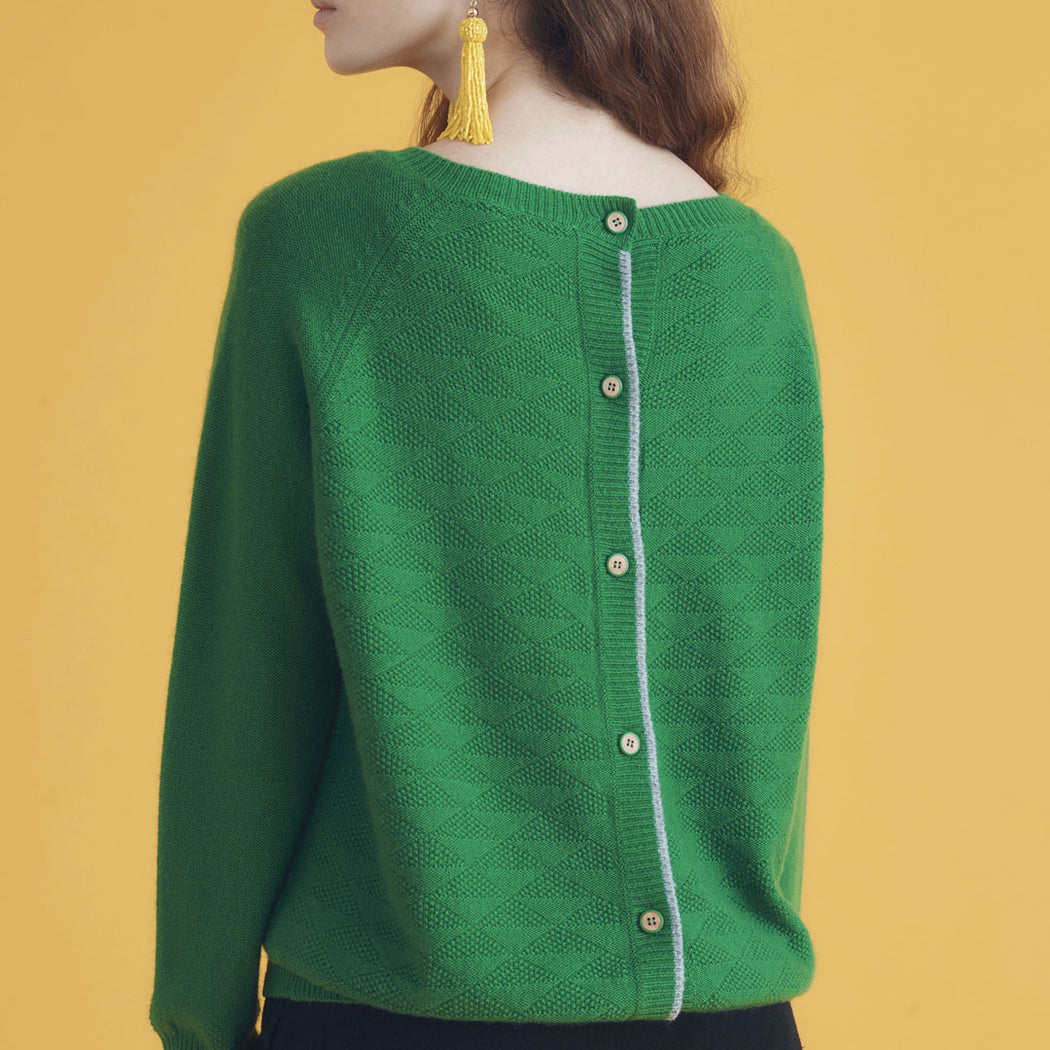 Lowie Green Cashmere  Jumpigan