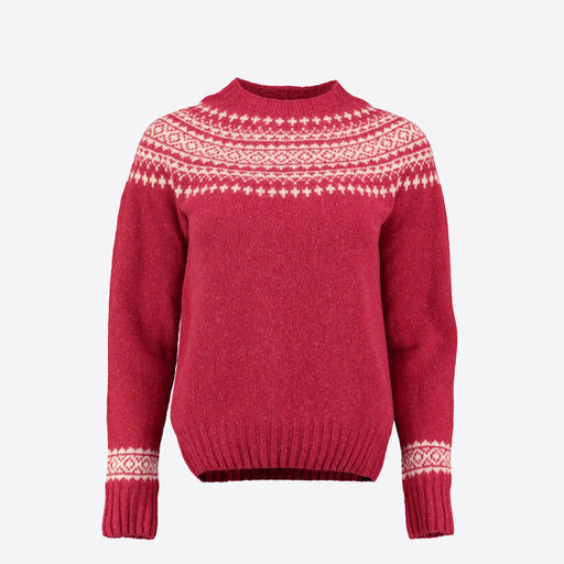 Lowie Red Lambswool Snow Jumper