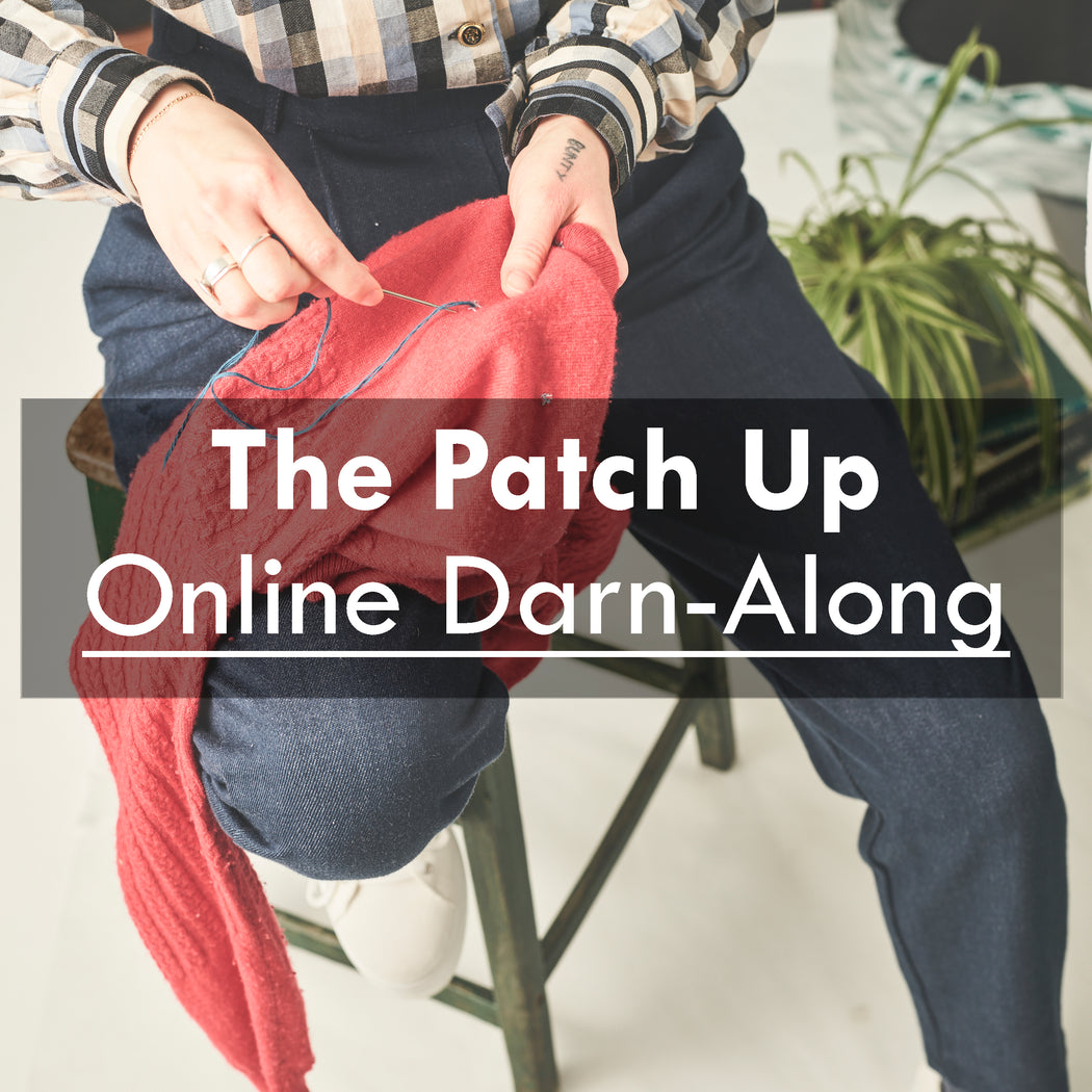 The Patch Up-Online Darn A-Long, 25th March