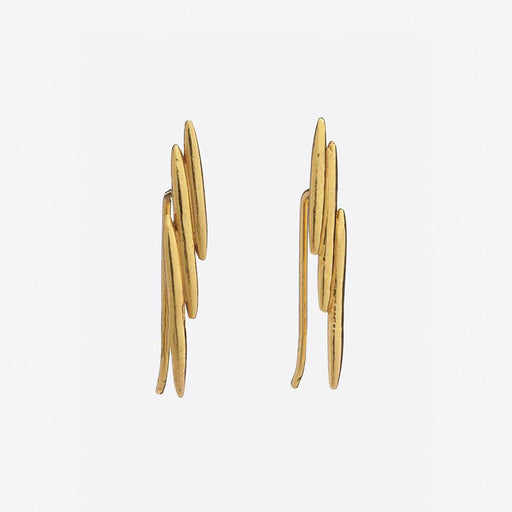 Rachel Jackson Electric Goddess Plated Ear Crawlers