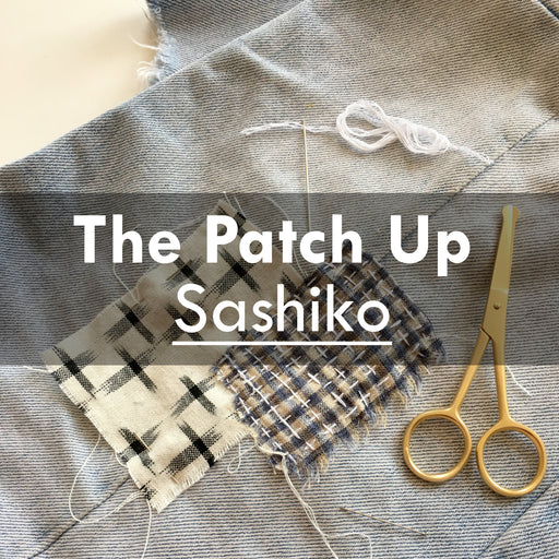 The Patch Up-Online Sashiko, 1st April