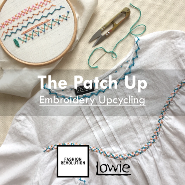 The Patch Up- Online Floral Embroidery, 15th April