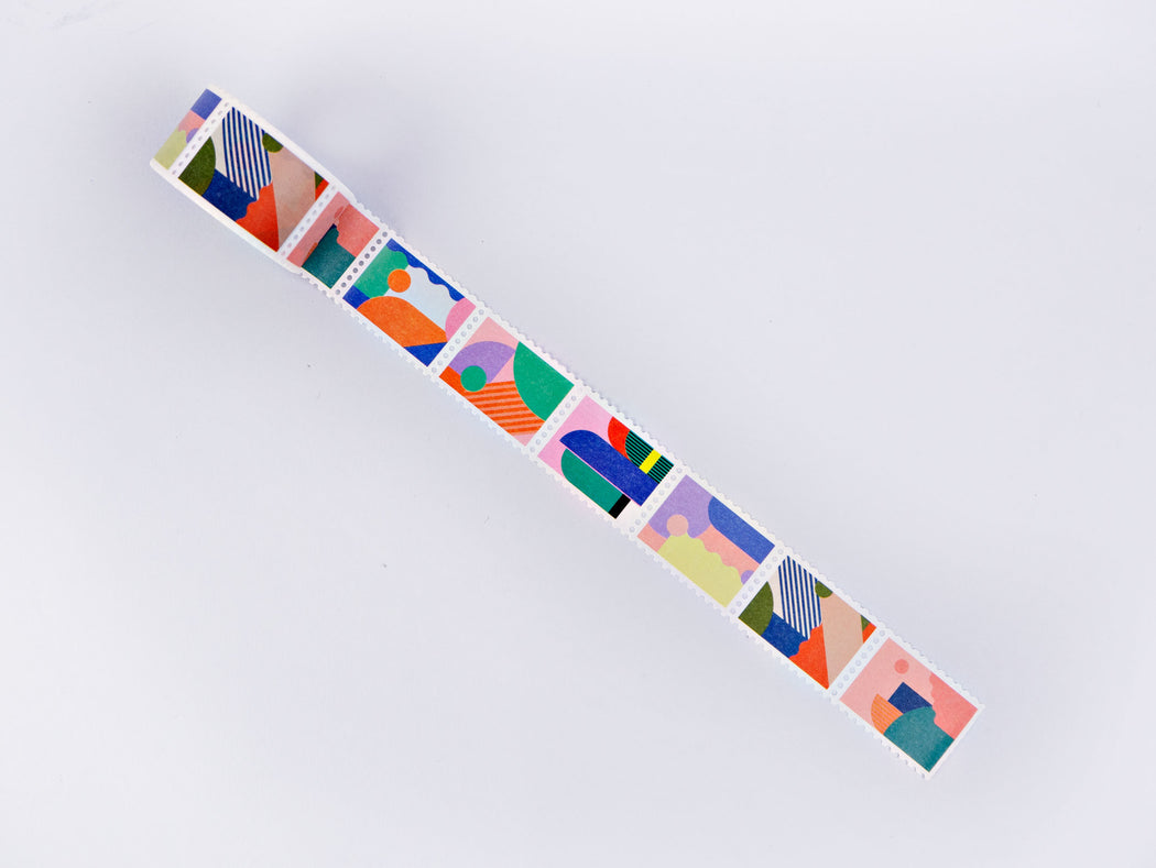 The Completist Miami Stamp Washi Tape