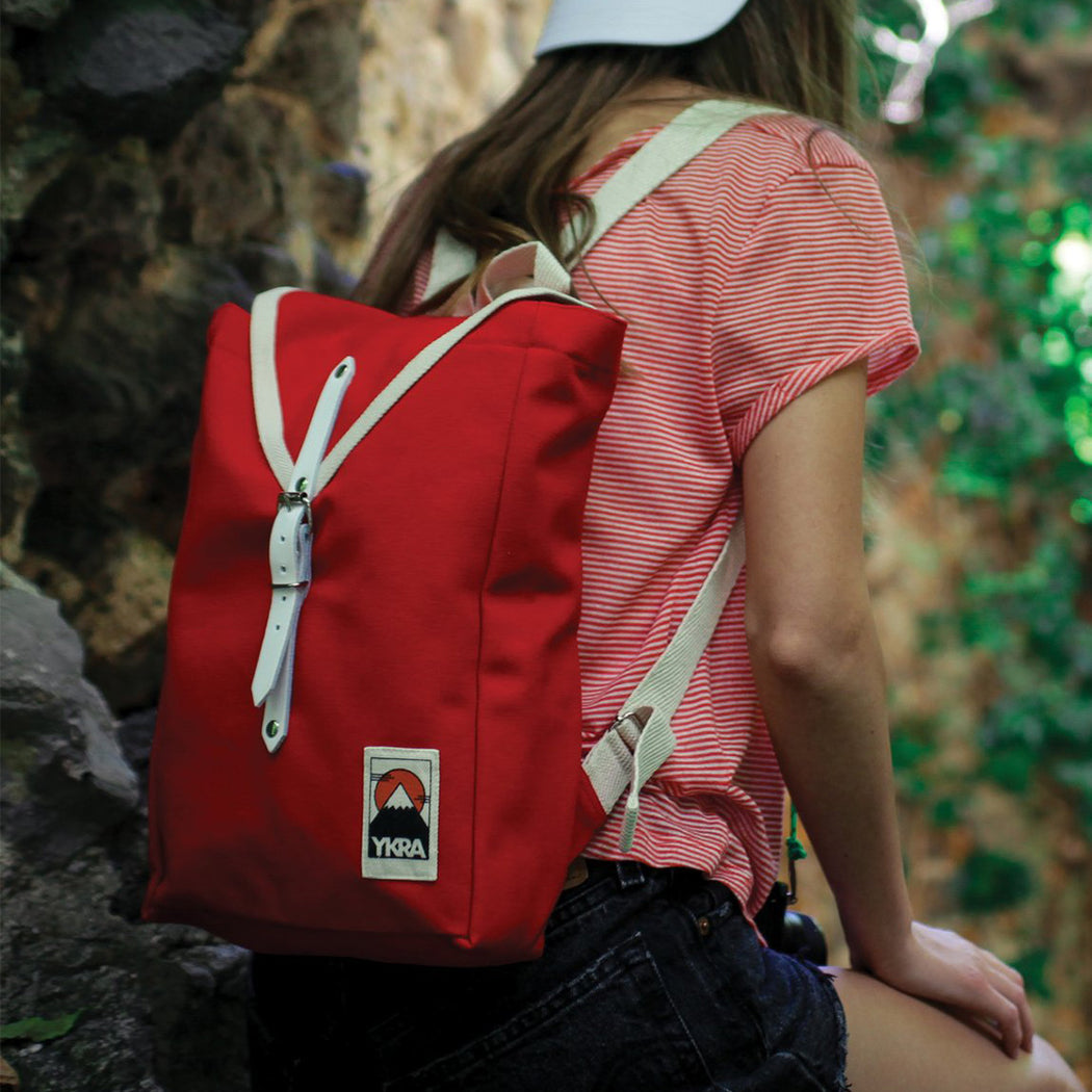 YKRA Scout Backpack Red