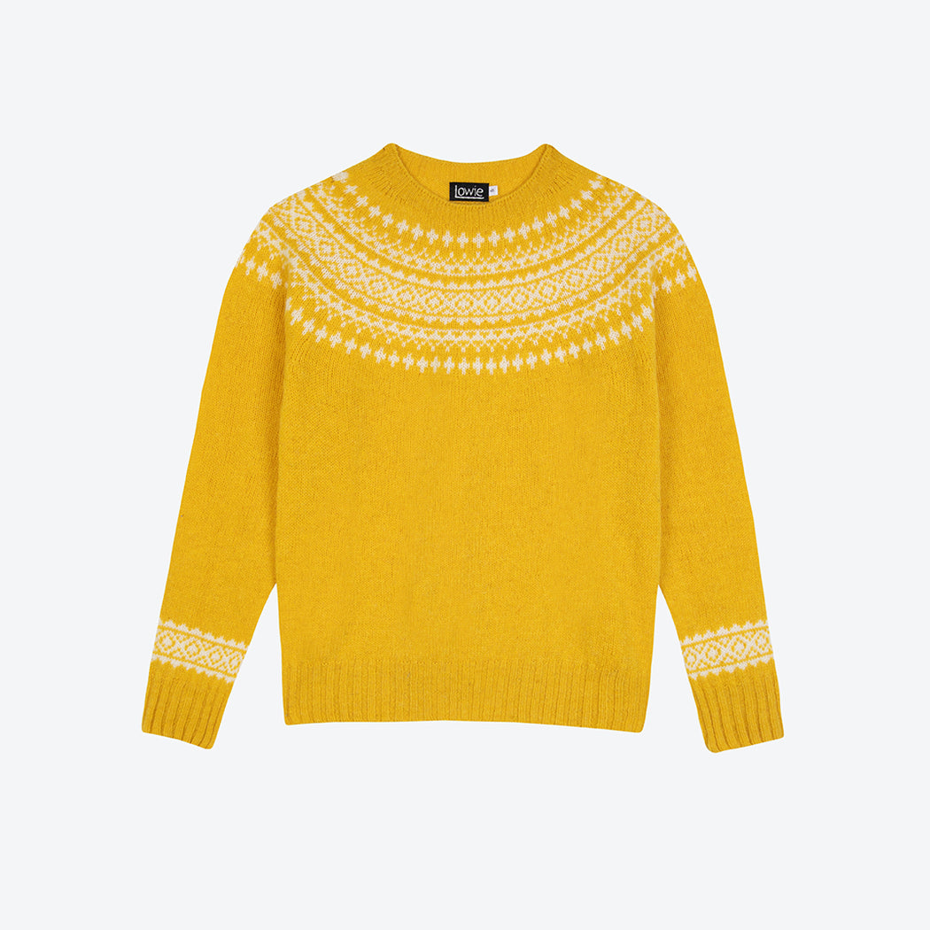 Lowie Yellow Scottish Snow Jumper
