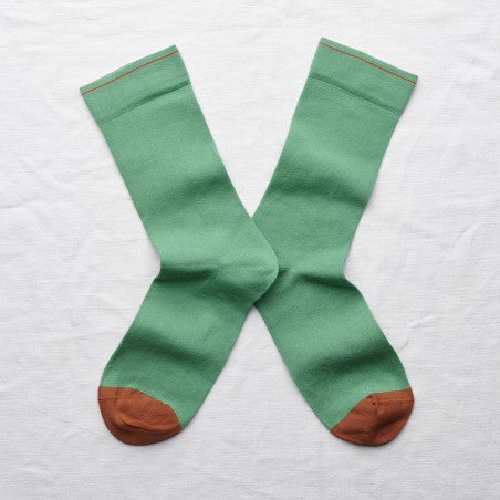 Bonne Maison Ming Green Socks