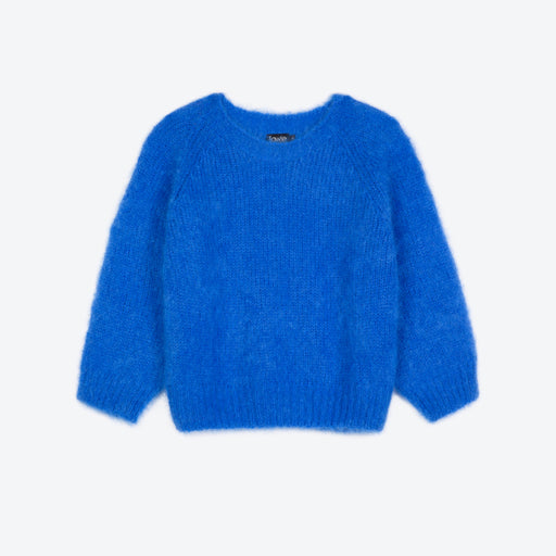Lowie Cobalt Mohair Cropped Jumper