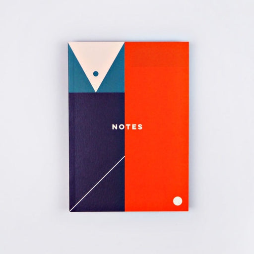 The Completist Block Shapes A5 Notebook