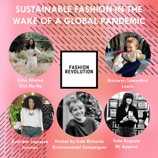 Donation for Panel: Sustainable Fashion in the Wake of a Global Pandemic