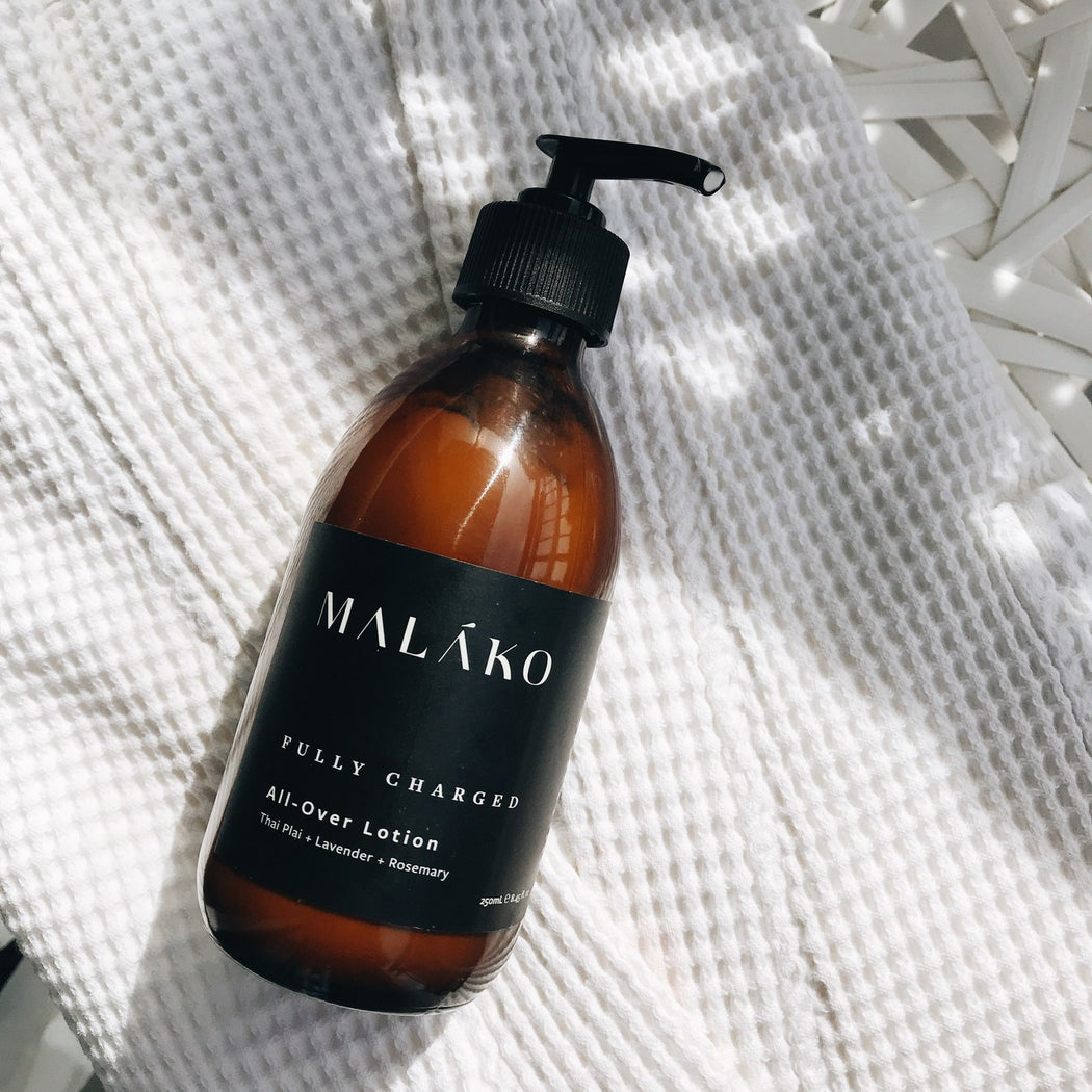 Malako Fully Charged All-Over Lotion