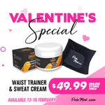 Valentine's Special Waist Trainer & Sweat Cream