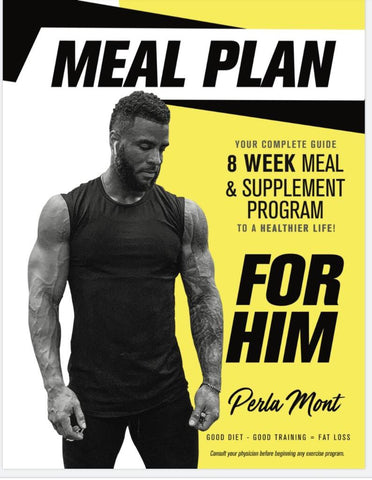 8 WEEK MEAL & SUPPLEMENT PROGRAM FOR HIM (supplements not included)