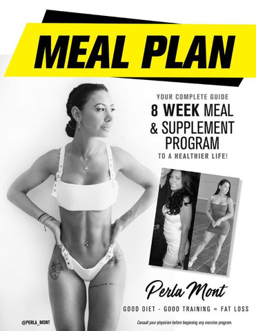 8 WEEK MEAL & SUPPLEMENT PROGRAM FOR HER (supplements not included)