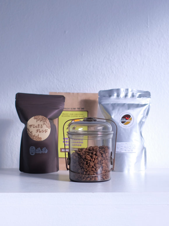 Secret Crafts / Okinawa Specialty Coffees & Coffee Jar Special set *Soldout