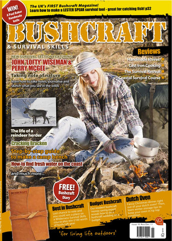 Bushcraft & Survival Skills Magazine - Issue 35 from Purpleheart Wood Ltd