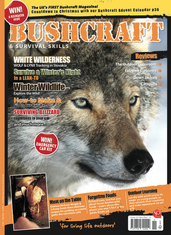 Bushcraft & Survival Skills Magazine - Issue 41 from Purpleheart Wood Ltd