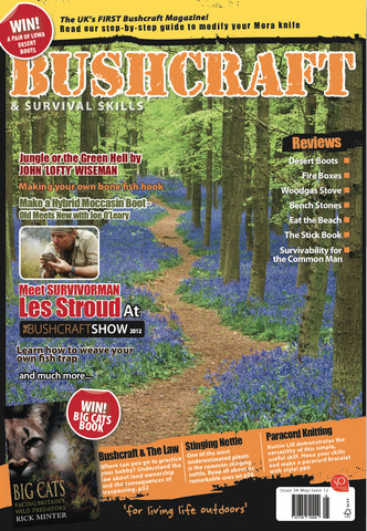 Bushcraft & Survival Skills Magazine - Issue 38 from Purpleheart Wood Ltd