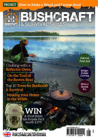 Bushcraft & Survival Skills Magazine - Issue 68 from Purpleheart Wood Ltd