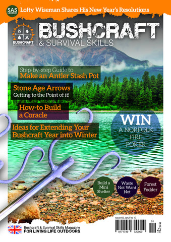Bushcraft & Survival Skills Magazine - Issue 66 from Purpleheart Wood Ltd