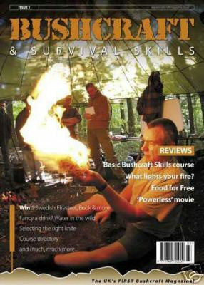 Bushcraft & Survival Skills Magazine - Issue 1 from Purpleheart Wood Ltd