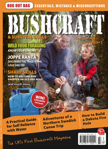 Bushcraft & Survival Skills Magazine - Issue 55 from Purpleheart Wood Ltd
