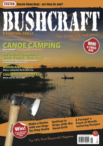 Bushcraft & Survival Skills Magazine - Issue 44 from Purpleheart Wood Ltd