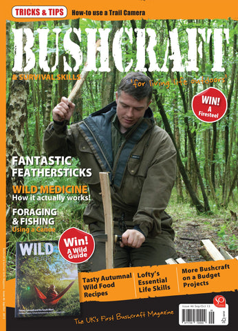 Bushcraft & Survival Skills Magazine - Issue 46 from Purpleheart Wood Ltd
