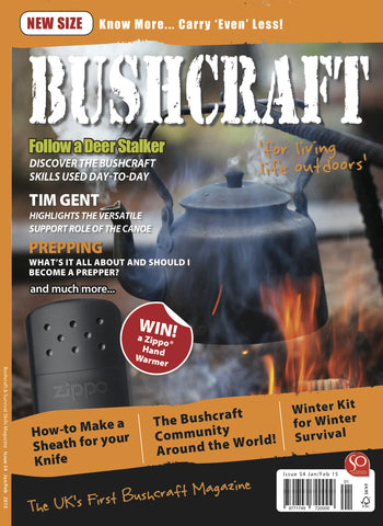 Bushcraft & Survival Skills Magazine - Issue 54 from Purpleheart Wood Ltd