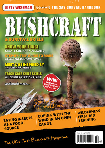 Bushcraft & Survival Skills Magazine - Issue 58 from Purpleheart Wood Ltd