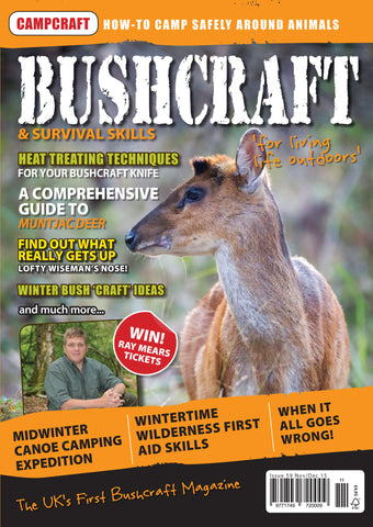Bushcraft & Survival Skills Magazine - Issue 59 from Purpleheart Wood Ltd