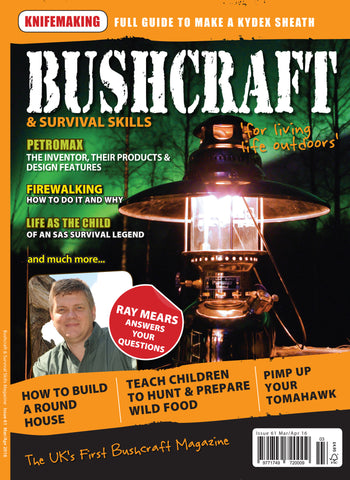 Bushcraft & Survival Skills Magazine - Issue 61 from Purpleheart Wood Ltd