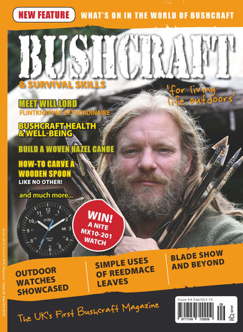 Bushcraft & Survival Skills Magazine - Issue 64 from Purpleheart Wood Ltd
