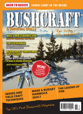Bushcraft & Survival Skills Magazine - Issue 65 from Purpleheart Wood Ltd