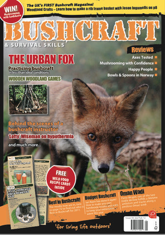 Bushcraft & Survival Skills Magazine - Issue 36 from Purpleheart Wood Ltd