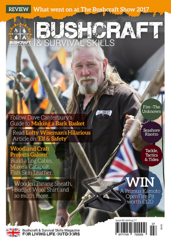 Bushcraft & Survival Skills Magazine - Issue 69 from Purpleheart Wood Ltd