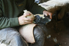 Palaeolithic Flintknapping Class with Will Lord