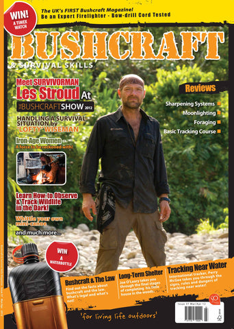 Bushcraft & Survival Skills Magazine - Issue 37 from Purpleheart Wood Ltd