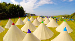 Glamping Zone 2019 - LUXURY LAKESIDE TIPIS - 4 & 6 BERTH