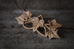 Hand Carve a Wooden Pendant with Giles Newman