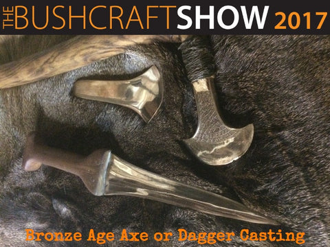 Bronze Age Axe or Dagger Casting with Simon Barnard from Event