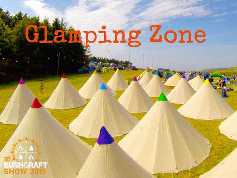 Glamping Zone 2019 - LUXURY LAKESIDE TIPIS - 4 & 6 BERTH from Event