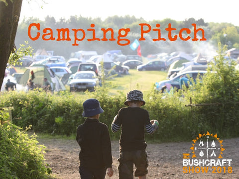 Open Field Camping Pitch from Event