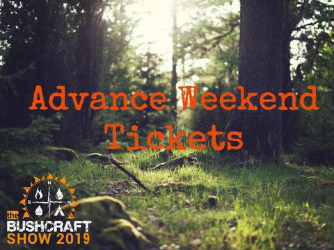 The Bushcraft Show 2019 Advance Weekend Tickets from Event