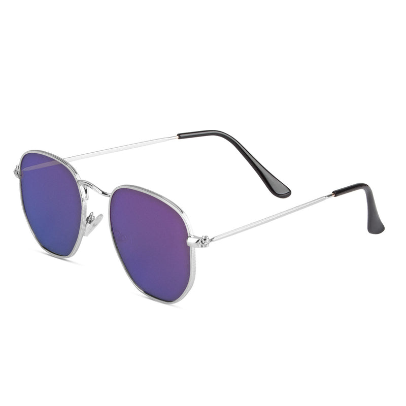 Samui Silver / Blue Sunglasses