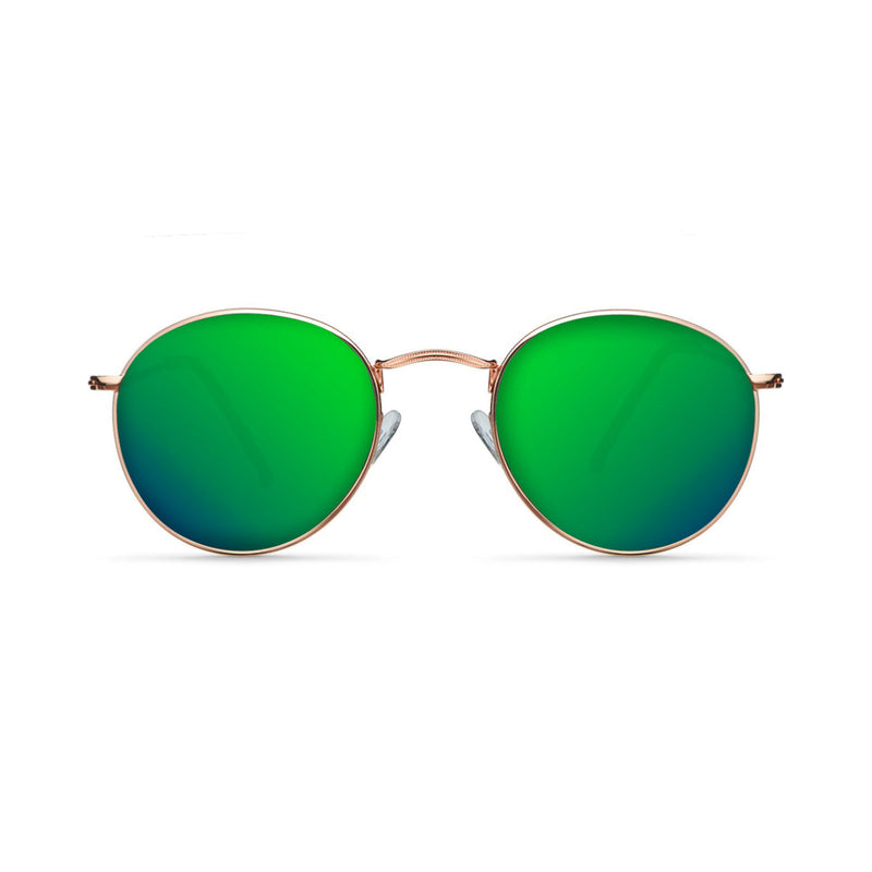 Dumai Rose Gold / Green Sunglasses