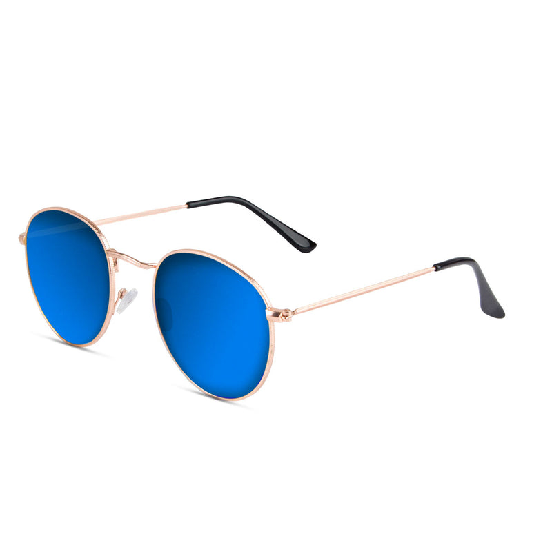 Dumai Rose Gold /Blue Sunglasses