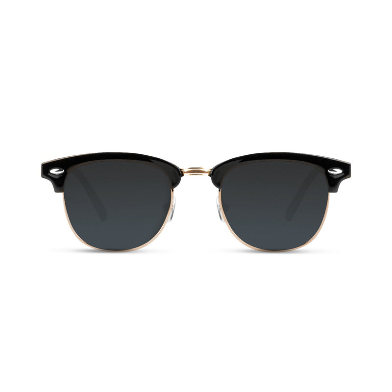Malaca Shinny Black Gold / Smoke Sunglasses