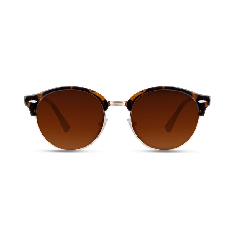 Taruta Shinny Carey Gold / Brown Sunglasses