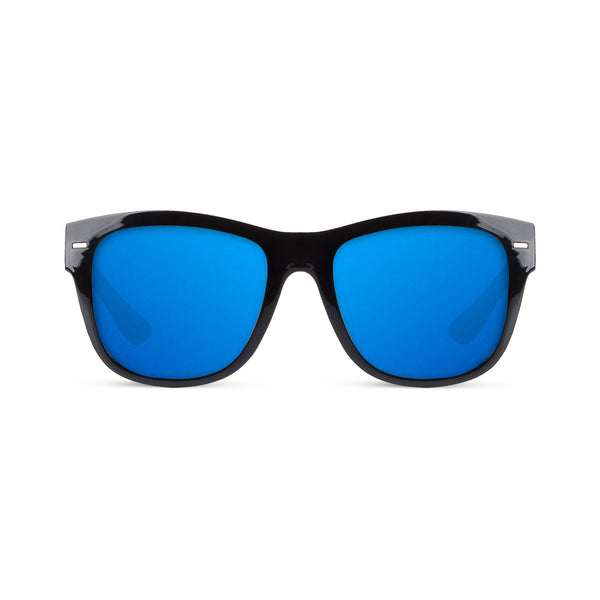 Makai Shinny Black / Blue Sunglasses